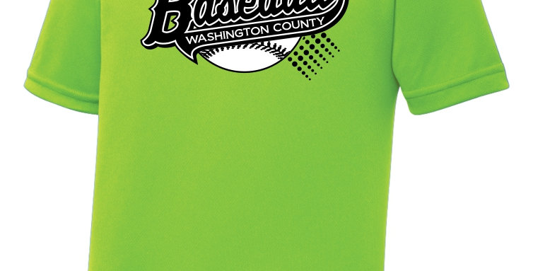 Baseball-Youth RacerMesh® Tee Short Sleeve