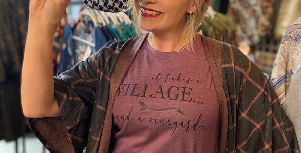"""Village and Vineyard"" Tee"