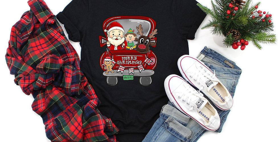 """""""Christmas Truck"""" SS Tshirt"""