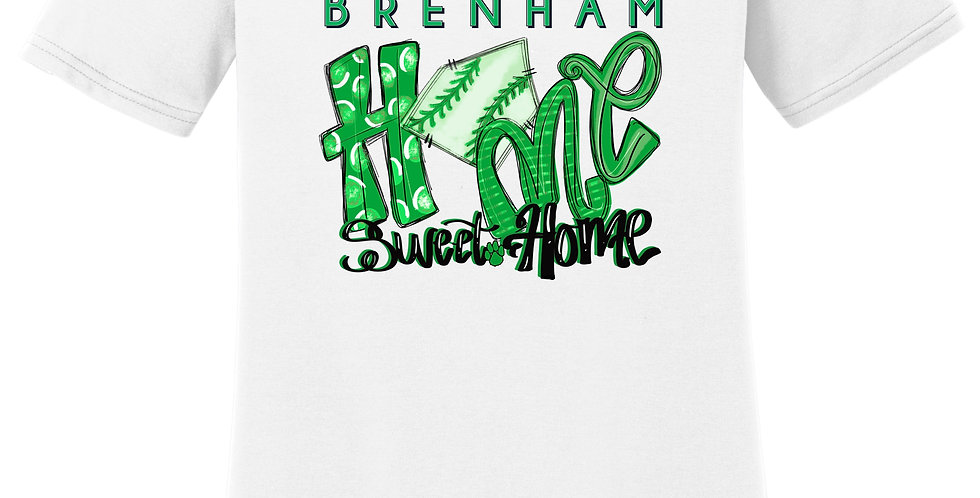 """Home Sweet Home"" V-neck Performance Blend Tee"