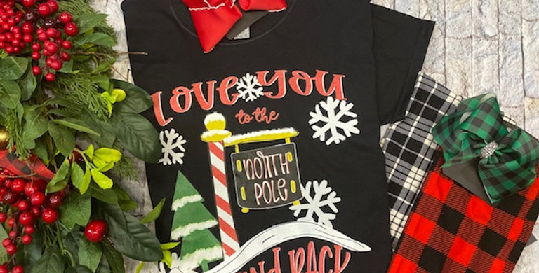"""Love You to the North Pole"" LS Tshirt"