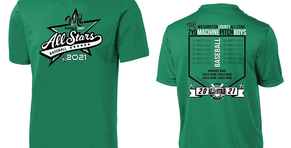 WCLL ALL-STAR Performance Tee