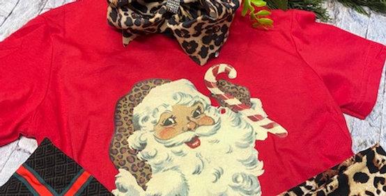 """""""Vintage Santa"""" SS Tshirt"""