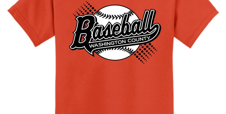 Baseball-Youth Core Blend Tee Short Sleeve