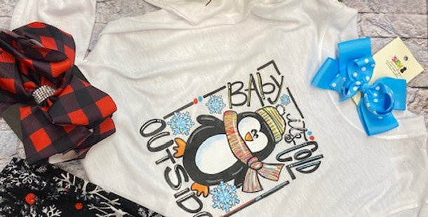 """""""Baby It's Cold Outside"""" LS Tshirt"""