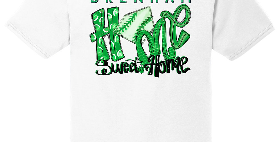 """Home Sweet Home"" SS Performance Blend Tee"