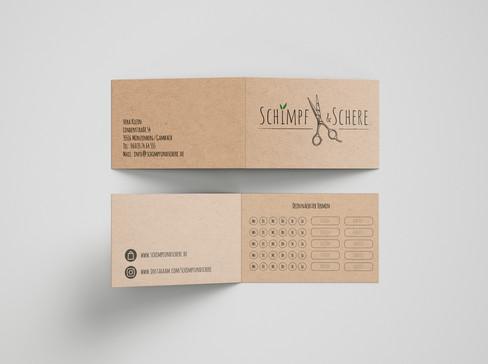 Printdesign, Visitenkarte