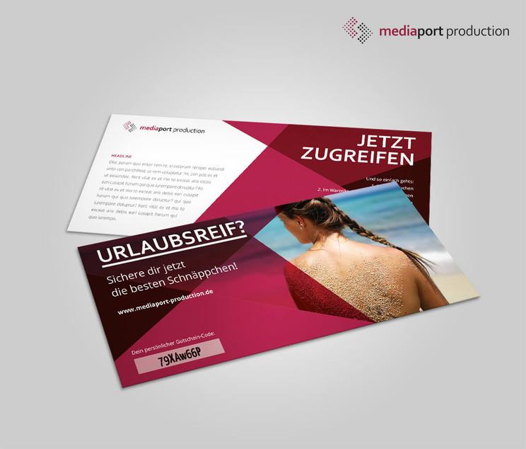 Grafikdesign, Selfmailer