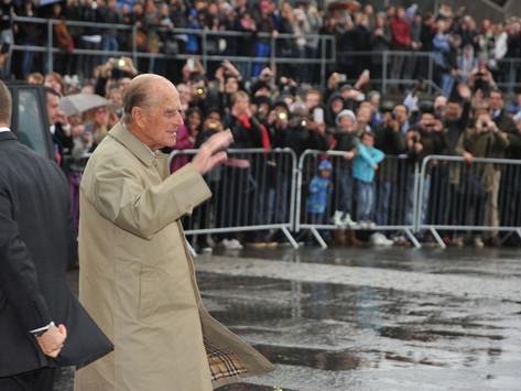 Duke of Edinburgh dies