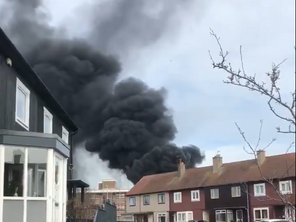 Northfield Academy in flames after 'petrifying' explosion