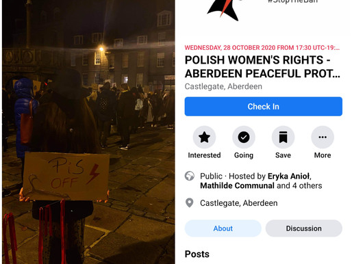Hundreds take part in Polish abortion rights protest