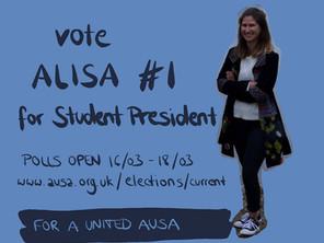 Breaking: Alisa Koester elected Student President