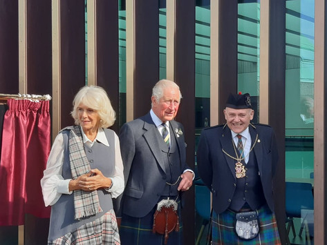 Charles and Camilla open Aberdeen Art Gallery