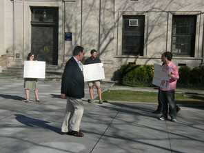 Students launch legal campaign to implement buffer zones around abortion clinics