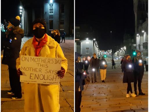 Aberdeen vigil held for Sarah Everard