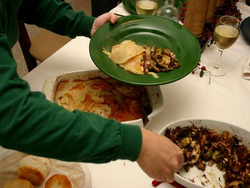Graduates bought stranded students' festive food packs