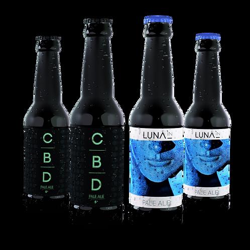 Mixte 12 bouteilles Pale Ale & CBD