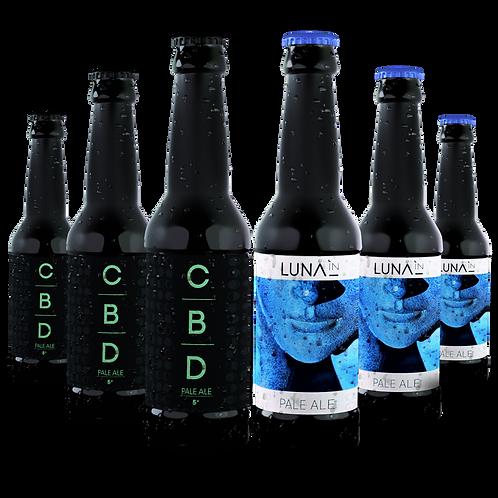 Mixte 24 bouteilles Pale Ale & CBD