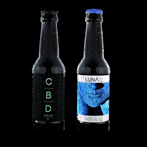 Mixte 6 bouteilles Pale Ale & CBD