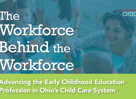 Groundwork Ohio Releases Report on Advancing the Early Childhood Education Profession in Ohio