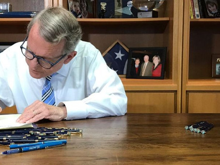 Governor Mike DeWine Signs FY20-21 State Operating Budget