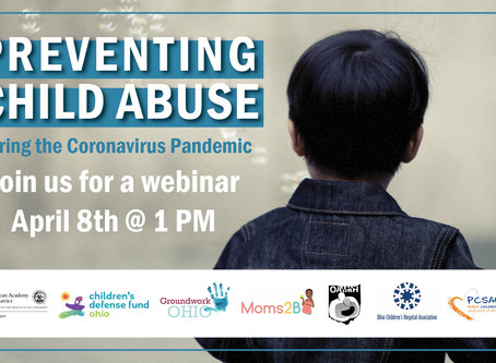 Join us Wednesday in Raising Awareness on Child Abuse Prevention Day