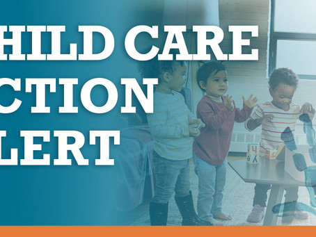 Urgent Call to Action to #SaveChildCare Happening Today