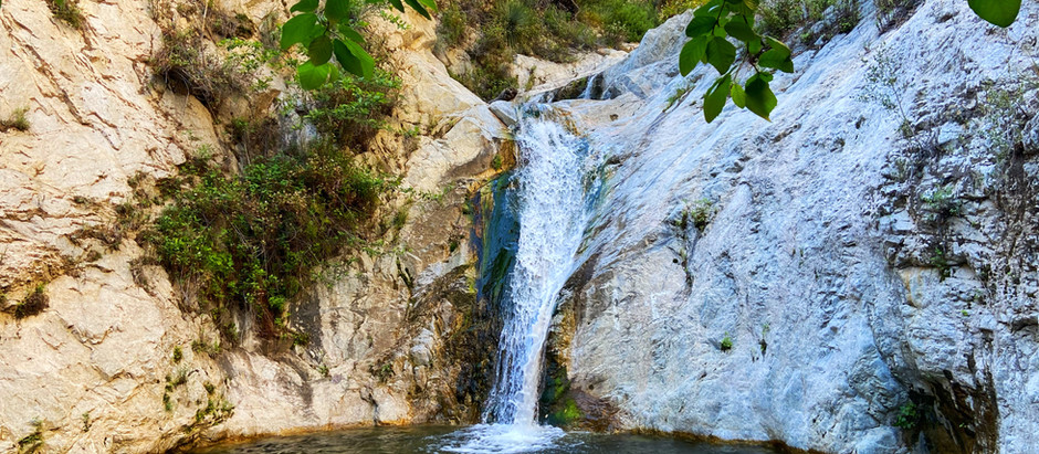 Hike to this Amazing Waterfall, right outside Los Angeles, CA