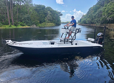 Skiff Life Boat Review - Hill Tide 22