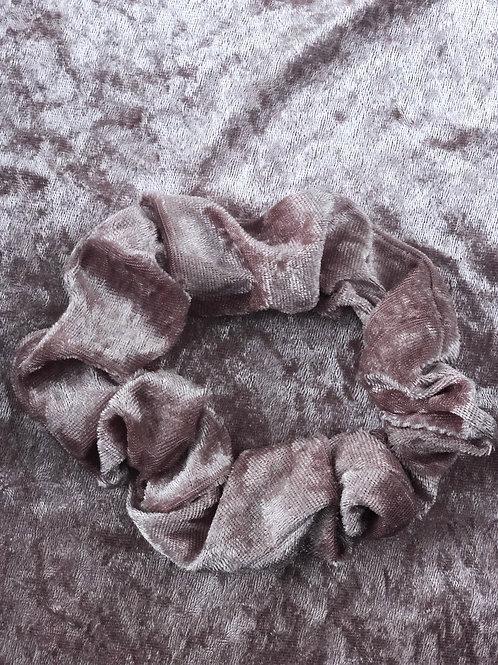 Dusty Pink Panne Velvet