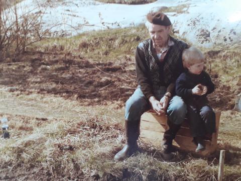 Morfar Åke & Ulf
