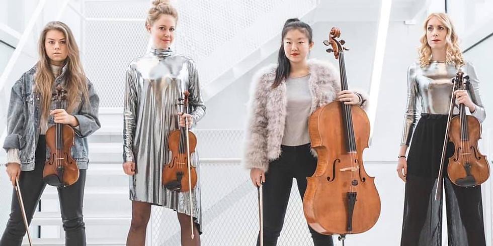 Rosa Kvartetten bjuder på Akustisk musik