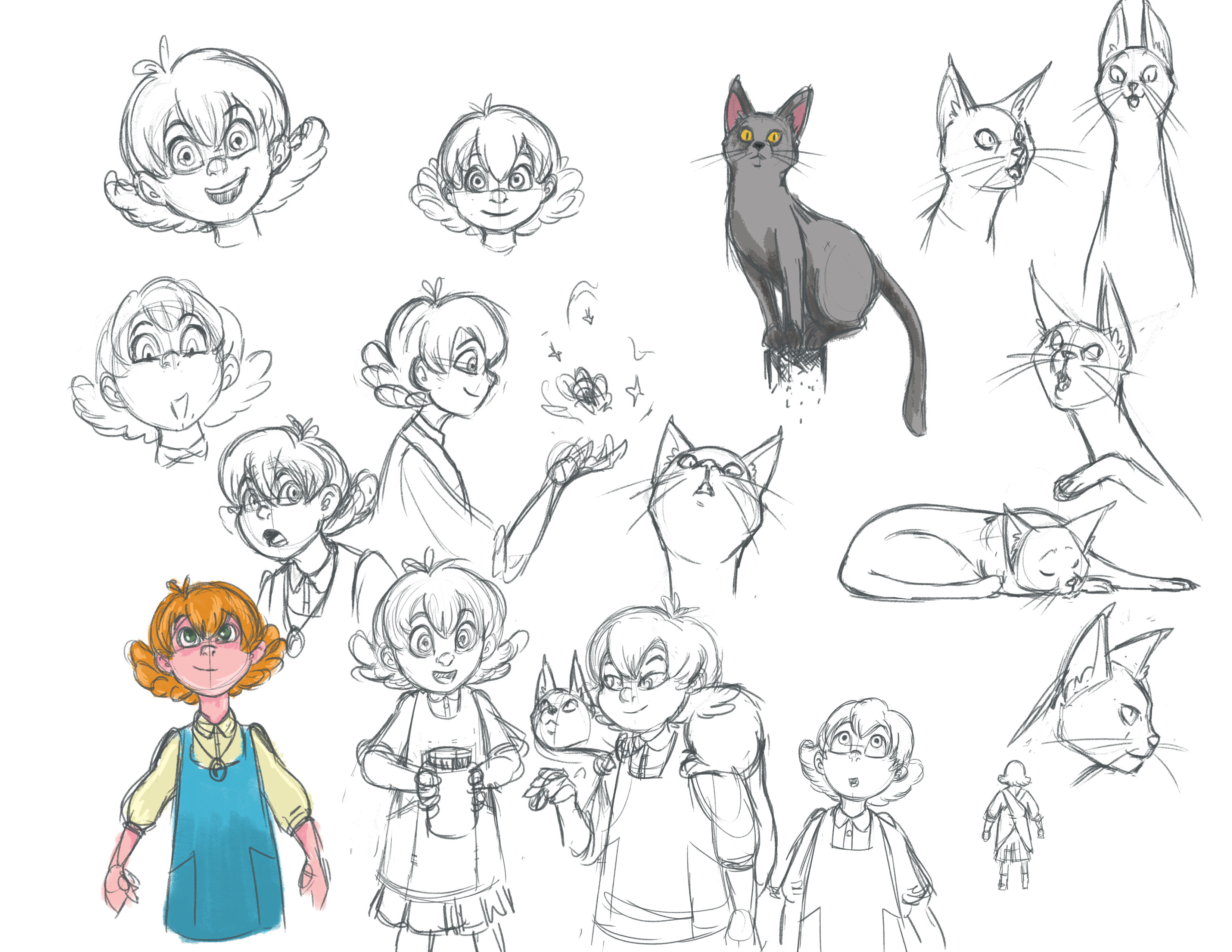 Witch Kitchen Character Studies