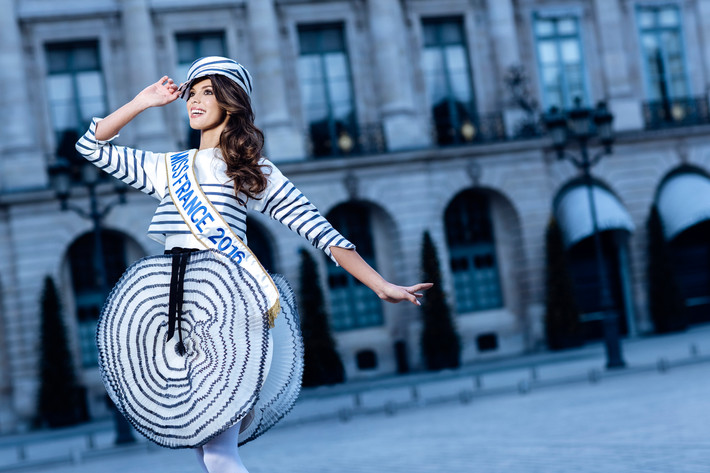 Miss France 2016, marraine du Festival International des Jeunes Créateurs de Mode