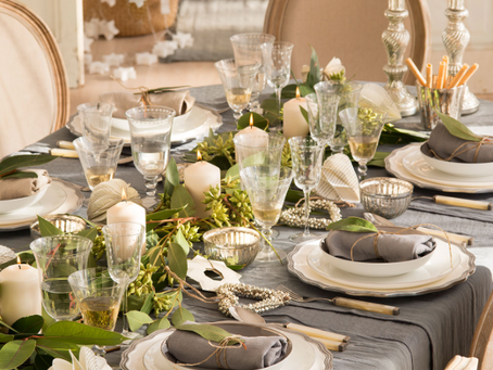 Mesas de fiesta para celebrar