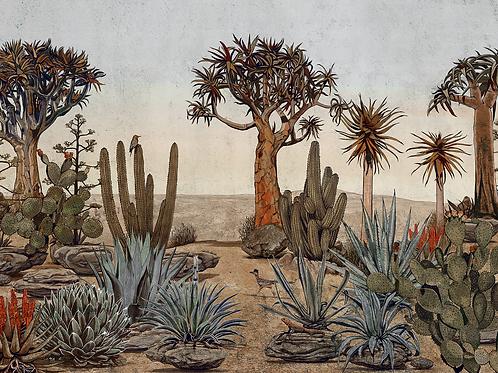 Papel pintado desierto