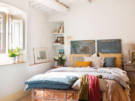 Habitaciones pequeñas y grandes