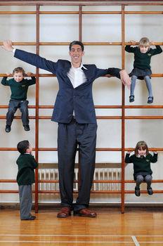 World's tallest man
