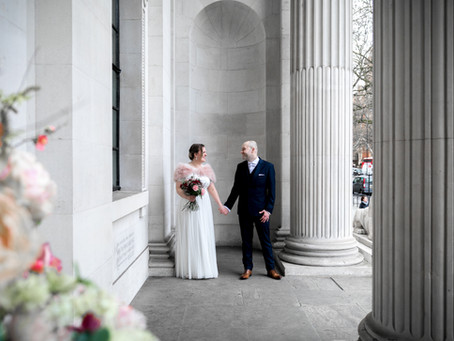 Old Marylebone Town Hall wedding photos - Jemma and Antony
