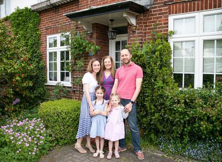Sarah's St Albans doorstep portraits - 14 days of fundraising for Noah's Ark Children's Hospice