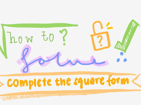 How to solve completing the square form?
