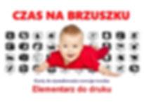 Metoda Domana Czytanie Bity inteligencji Elementarz Czarno-białe karty do druku do pobrania Wczesna edukacja Metoda Domana