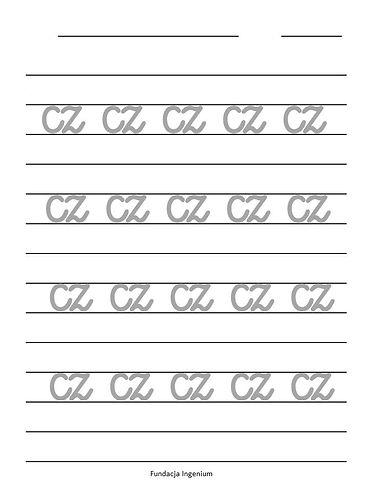 Metoda Domana Karty pracy do nauki pisan