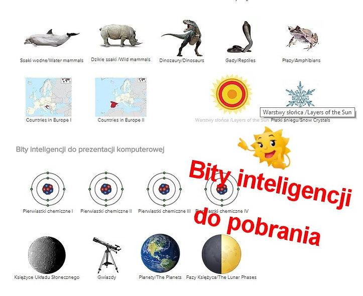 Metoda Domana Bity inteligecji do pobrania Wczesna edukacja Metoda Domana