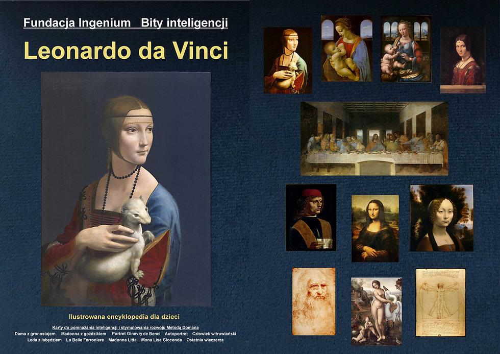 Bity inteligencji Arcydzieła Leonarda da Vinci karty do pobrania