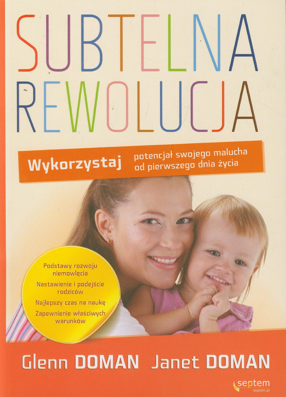 Metoda Domana rozwój ruchowy dziecka od urodzenia