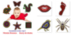 wczesna edukacja Metoda DomanaDoman Method Visual Stimulation flashcards for newborns