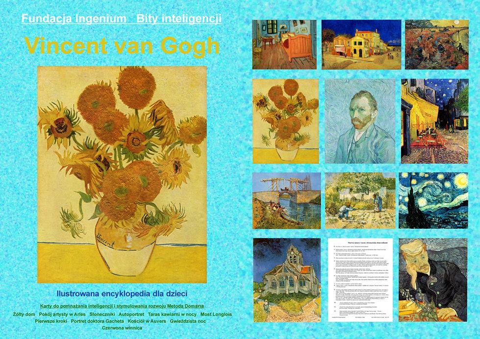 Bity inteligencji flashcards Seria Van Gogh karty do pobrania