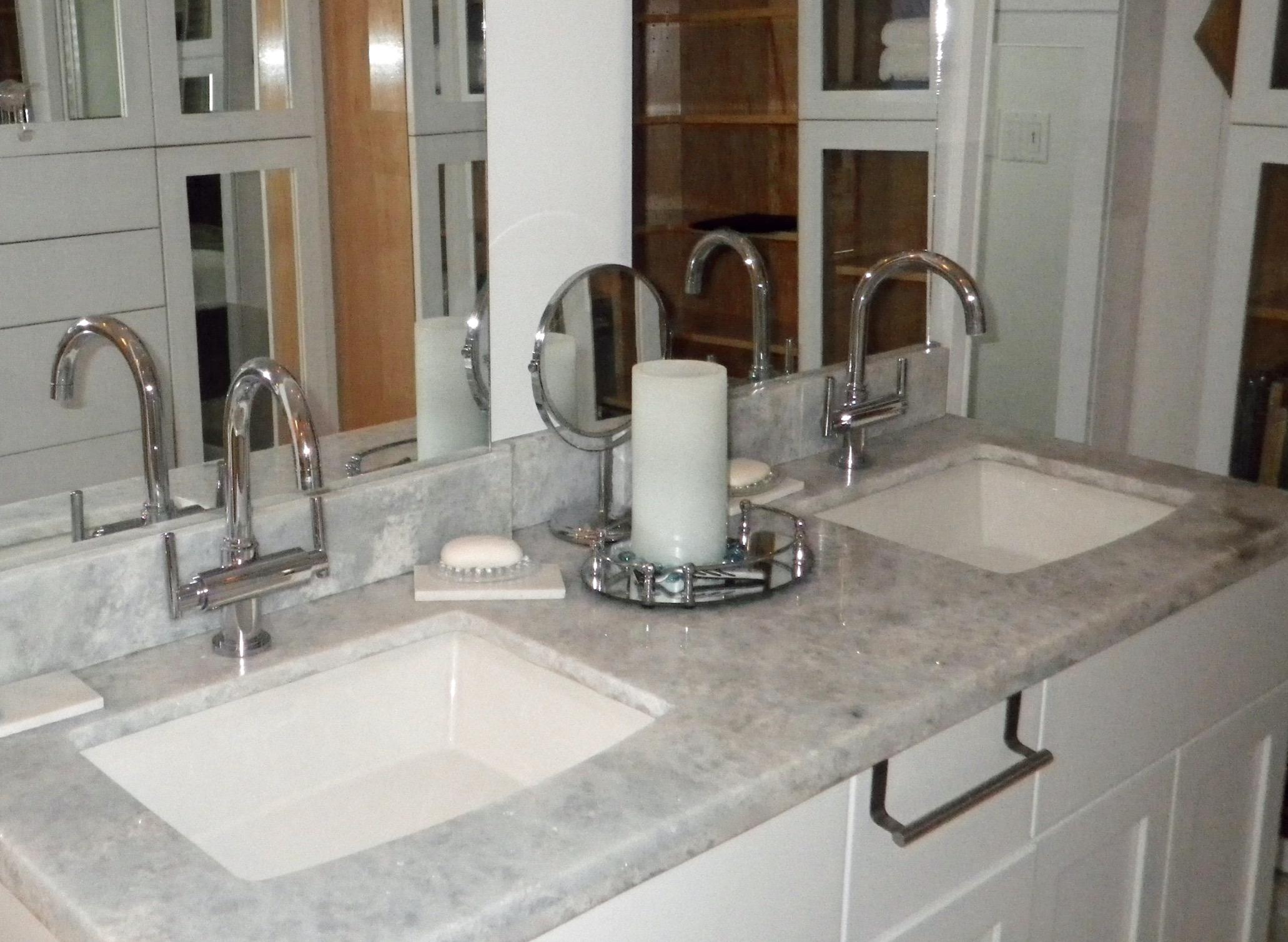 Custom Double Sink Vanity