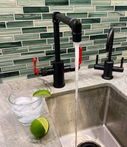 Sparkling water faucet